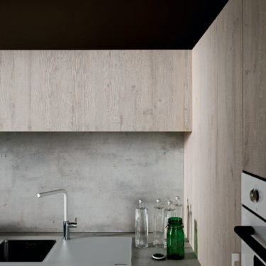 Rough Natural Wood Kitchen Wall Cabinets Cesar