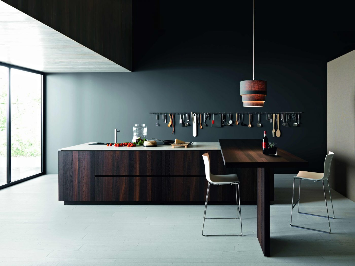 Kitchen Island And Table In Oak By Cesar