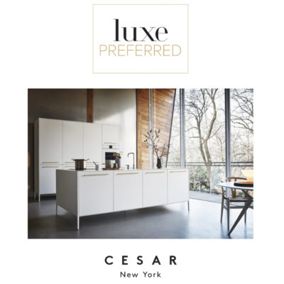 Cesar NYC LUXE Magazine Preferred