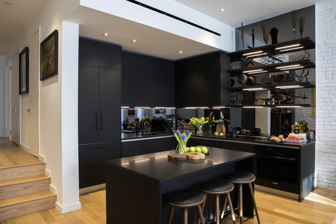 Luxury Custom Kitchen Chelsea | Cesar NYC Kitchens | High ...