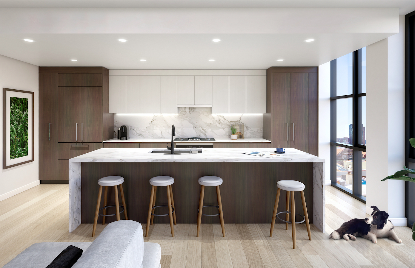 Cesar Multi-Unit Italian Kitchen Design NYC