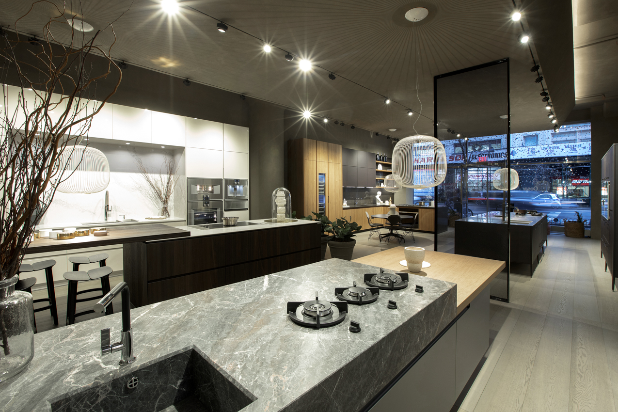Cesar NYC Kitchen Displays Open View