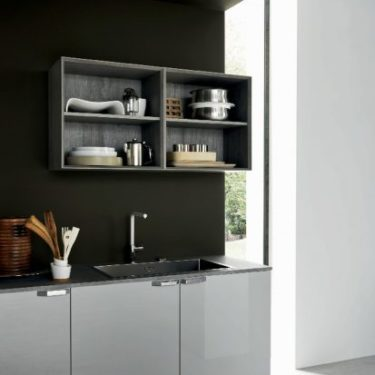 Cesar Ariel Kitchen in Eco-Gloss and Oak