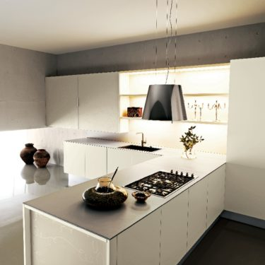 Cesar Yara Kitchen in Butter Lacquer